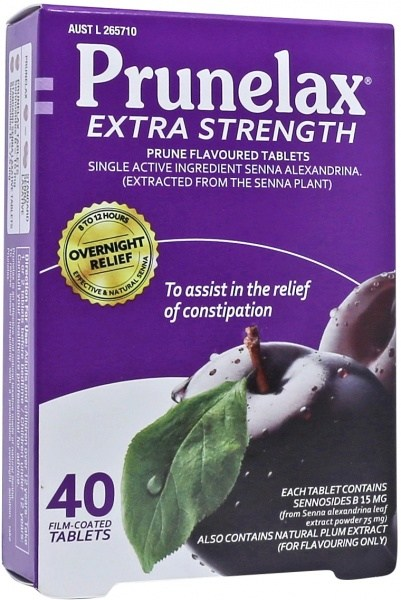 Prunelax Extra Strength 40Tabs