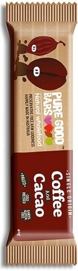 Pure Good Bars Single Origin Coffee & Cacao 20x40g