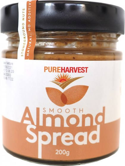 Pure Harvest Almond Spread Smooth 200g