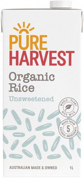 Pure Harvest Aussie Dream Rice Milk+Cal 1lt