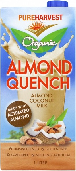 Pure Harvest Organic Almond Coconut Quench Milk  1L