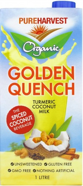 Pure Harvest Organic Golden Quench Turmeric Coconut Milk  1L