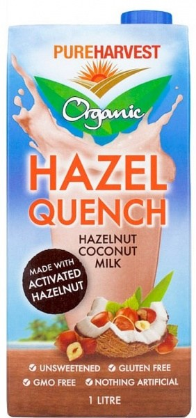 Pure Harvest Organic Hazel Quench Hazelnut Coconut Milk  1L