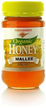 Pure Harvest Organic Mallee Honey 500gms