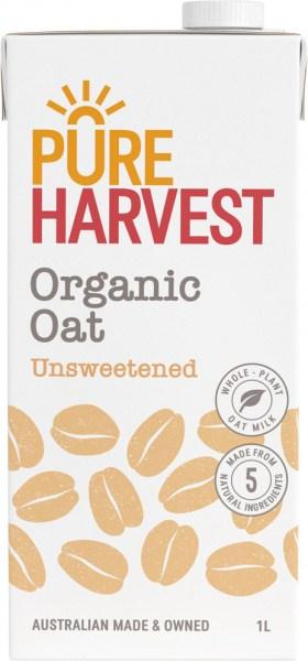 Pure Harvest Organic Oat Milk 1litre