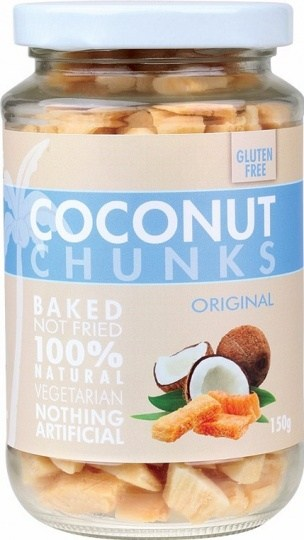 Pure Young Coconut Chunks Original 150g