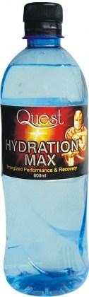 Quest Natural Spring Hydrat Max Flat Cap 600mlx24
