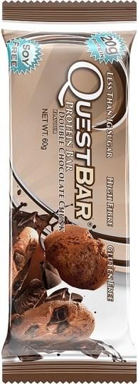 Quest Protein Bar Double Chocolate Chunk  12x60g Nov 21