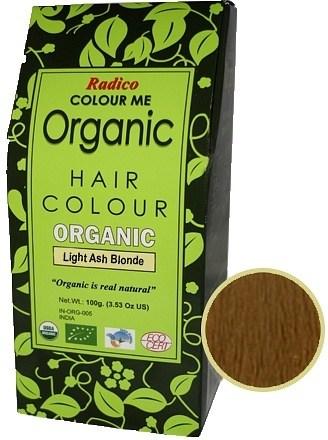 Radico Organic Colour Light Ash Blonde 100g OCT19