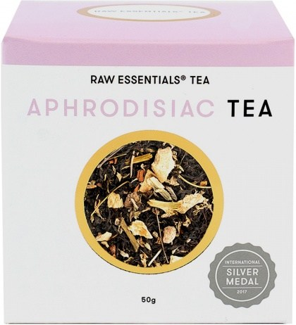 Raw Essentials Tea Aphrodisiac Loose Leaf Tea 50g