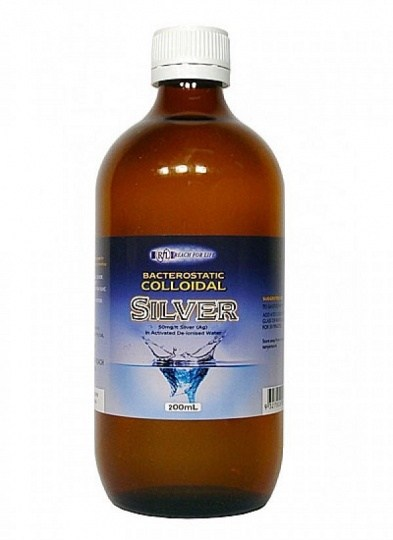 Reach For Life Colloidal Silver 50mg/lt 200ml