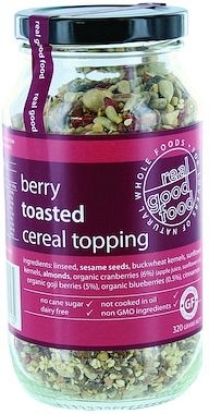 Real Good Foods Berry Cereal Topping 320g
