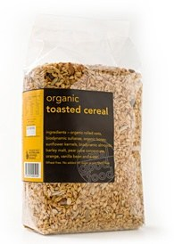 Real Good Foods Muesli Toasted Refill Bag 475g