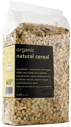 Real Good Foods  Natural Cereal Bag1.25kg