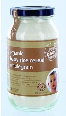 Real Good Foods Organic Baby Rice Cereal 330g