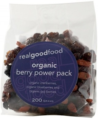 Real Good Foods Organic Berry Power Pack 100g