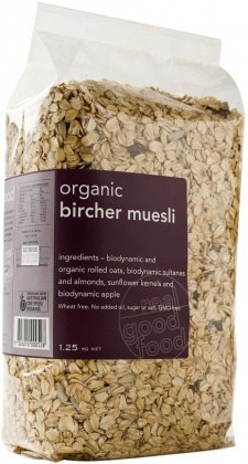 Real Good Foods Organic Bircher Muesli Bag 1.25kg