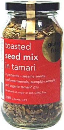 Real Good Foods Seed Mix Tsted in Tamari (Jar) 295g