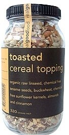 Real Good Foods Toasted Cereal Topping Jar 320g
