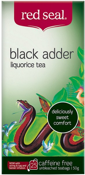 Red Seal Black Adder 25Teabags