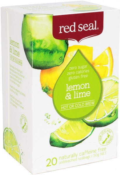 Red Seal (Hot & Cold Brew) Lemon & Lime 20Teabags