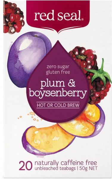 Red Seal (Hot & Cold Brew) Plum & Boysenberry 20Teabags