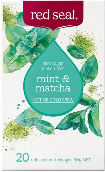 Red Seal Mint & Matcha 20Teabags
