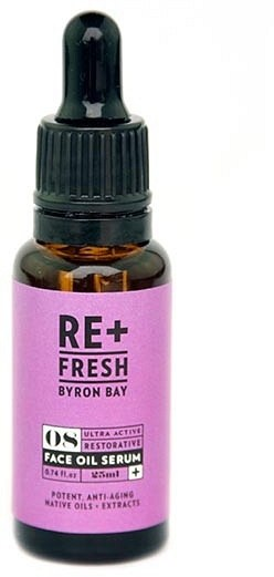 ReFresh Byron Bay 08 Ultra Active Restorative Face Oil Serum 25ml