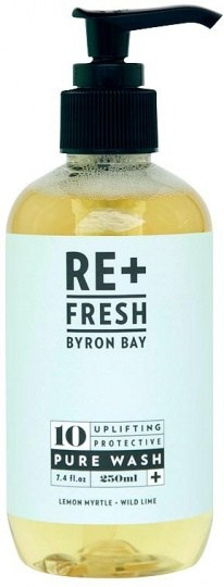 ReFresh Byron Bay 10 Uplifting Protective Pure Wash with Wild Lime + Lemon Myrtle 250ml