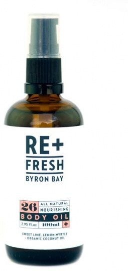 ReFresh Byron Bay 26 All Natural Nourishing Body Oil 100ml DEC20