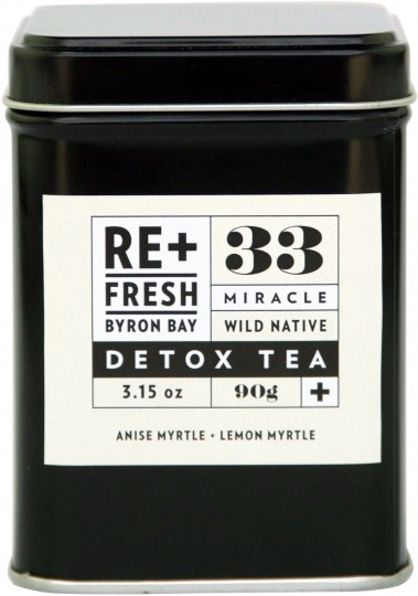 ReFresh Byron Bay 33 Wild Native Miracle Detox Tea 120g