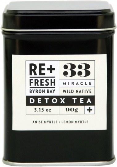 ReFresh Byron Bay 33 Wild Native Miracle Detox Tea 120g