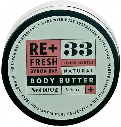 ReFresh Byron Bay 62 Lemon Myrtle Body Butter 100gm