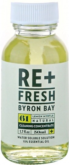 ReFresh Byron Bay Lemon Myrtle 15% Water Sol Ess Oil 50ml
