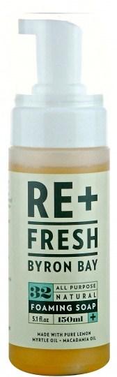 ReFresh Byron Bay Lemon Myrtle Foaming Soap 150ml