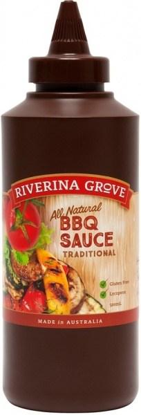 Riverina Grove BBQ Sauce  500ml