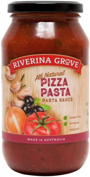 Riverina Grove Pizza Pasta Sauce  500g