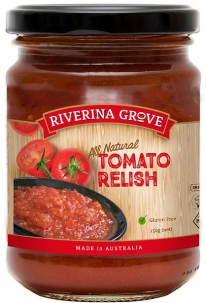 Riverina Grove Tomato Relish  250g