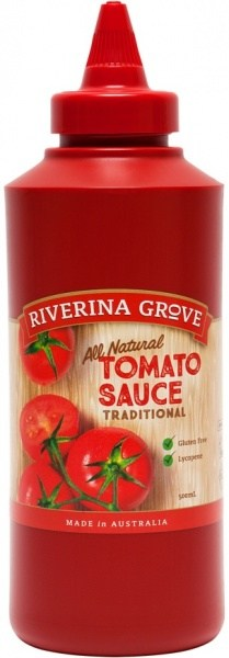 Riverina Grove Tomato Sauce  500ml