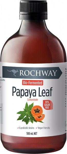 Rochway Bio-Fermented Papaya Leaf Concentrate  500ml