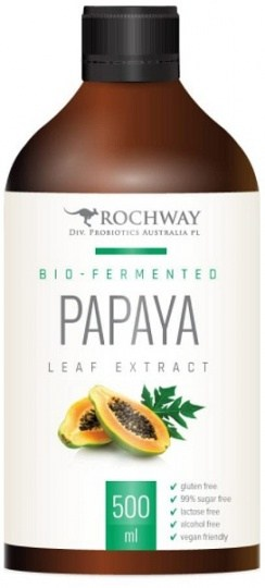 Rochway Bio-Fermented Papaya Leaf Extract  500ml