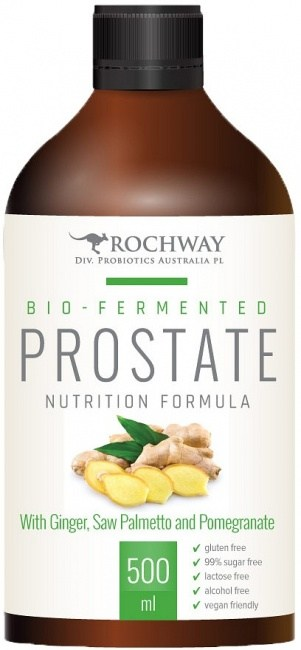 Rochway Bio-Fermented Prostate with Ginger, Saw Palmetto and Pomegranate 500ml