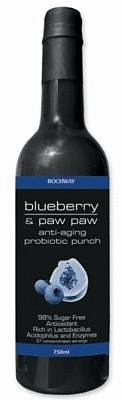 Rochway Blueberry PawPaw Probiotic Punch 750ml