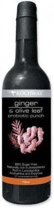 Rochway Ginger & Olive Leaf Probiotic 750ml