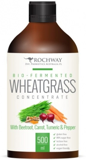 Rochway Wheatgrass,Beetroot,Carrot Probiotic 750ml REPLACED BY CODE 72018