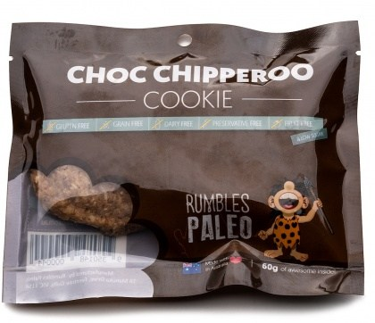 Rumbles Paleo Choc Chipperoo  60g