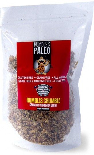 Rumbles Paleo Rumbles Crumble Crunchy Cinnamon Blast 400g