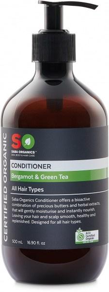 Saba Organics Conditioner Bergamot & Green Tea 500ml