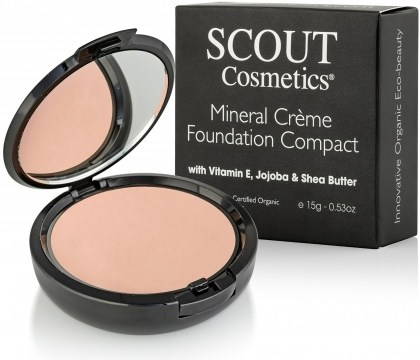 Scout Cosmetics Foundation Creme Compact Shell 15g