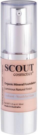 Scout Cosmetics Foundation Fluid Healthy Glow Shell 30ml